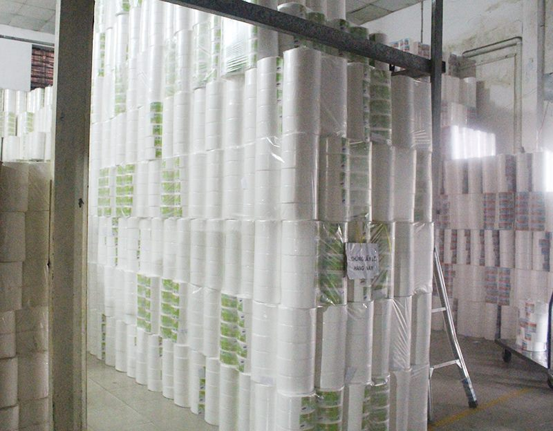 Giá giấy vệ sinh cuộn lớn rẻ tại TpHCM, ở đây!