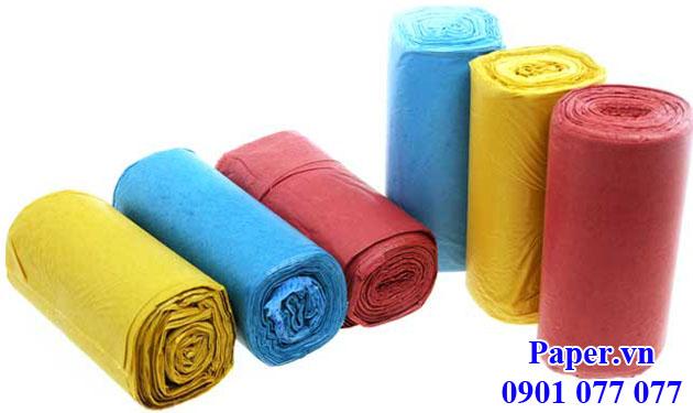 Túi nilon đựng rác size tiểu nhiều màu