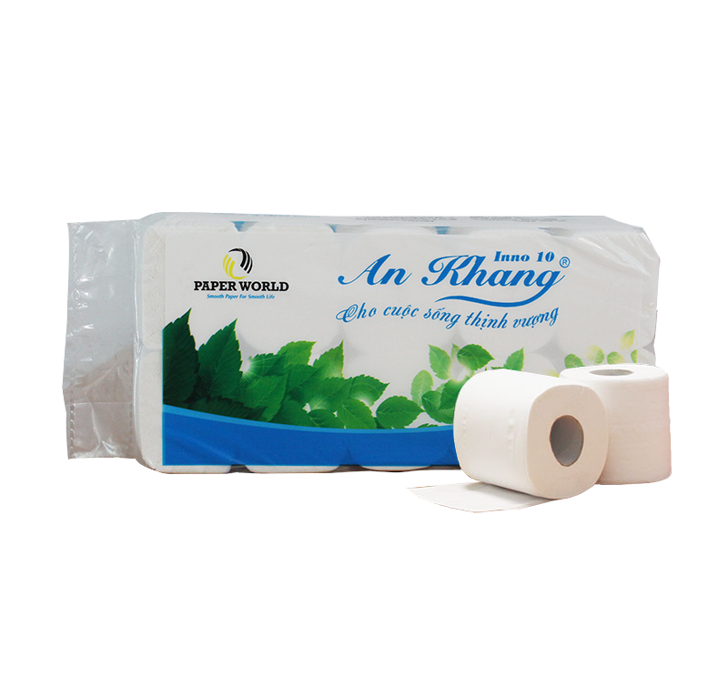 Giấy vệ sinh cuộn nhỏ An Khang Inno10