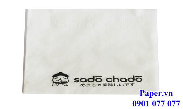 Khăn giấy in logo thương hiệu riêng