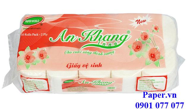Giấy vệ sinh loại An Khang Inno