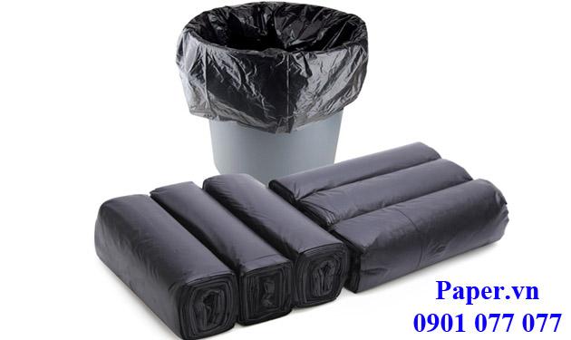 Túi đựng rác đen có không lõi nhiều size