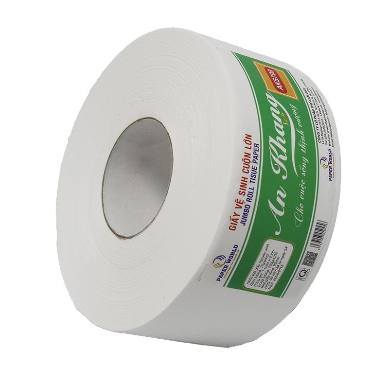 Giấy vệ sinh cuộn lớn An Khang Soft700