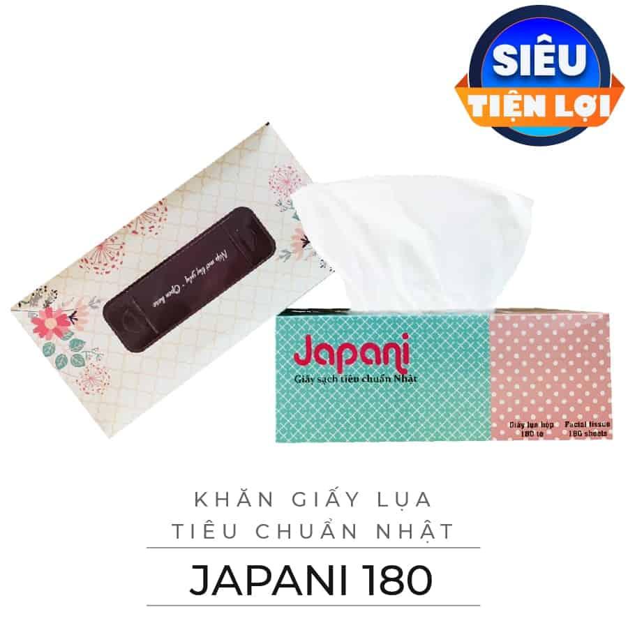 Cung cấp khăn giấy lụa hộp japani-silk180-paper.vn