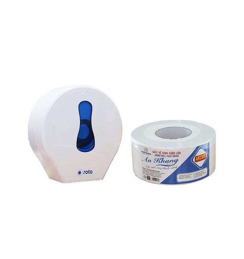 Giấy vệ sinh cuộn lớn giá rẻ - Thế Giới giấy