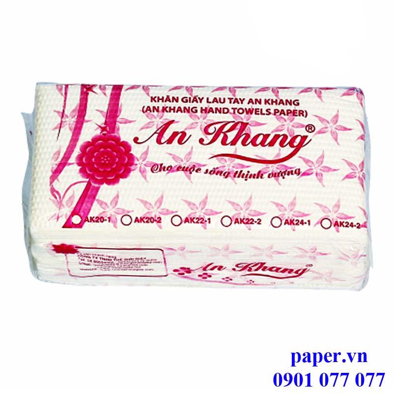 Khăn giấy lau tay An Khang
