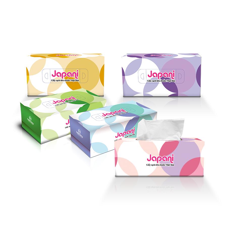 Cung cấp khăn giấy sạch hộp japani-silk180-paper.vn