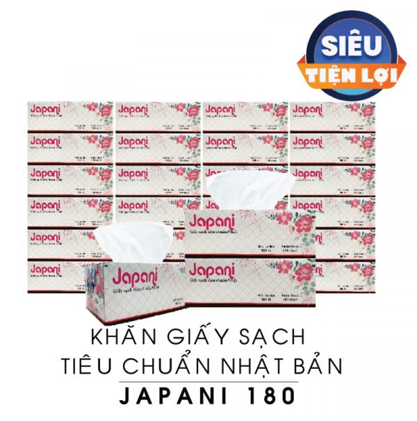 Khăn giấy sạch hộp cao cấp JPS180