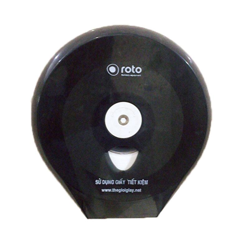 Hộp đựng giấy vệ sinh cuộn lớn ROTO 3203B - Thế Giới Giấy