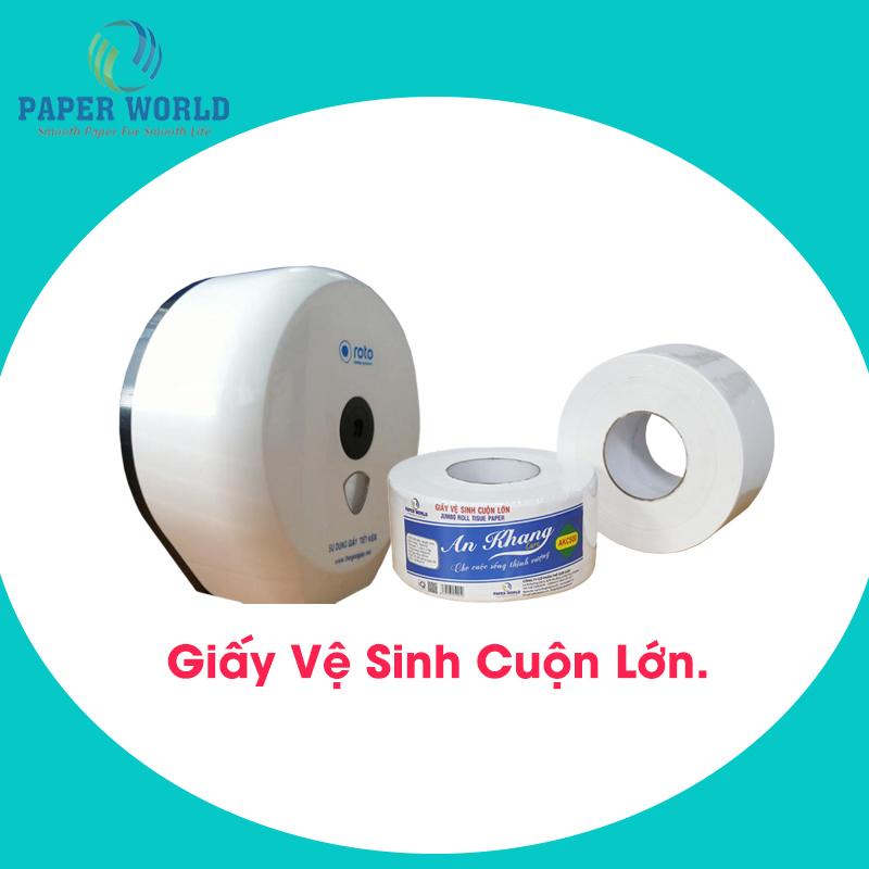 Giá giấy vệ sinh cuộn lớn ở địa chỉ nào hợp lý cho các công ty
