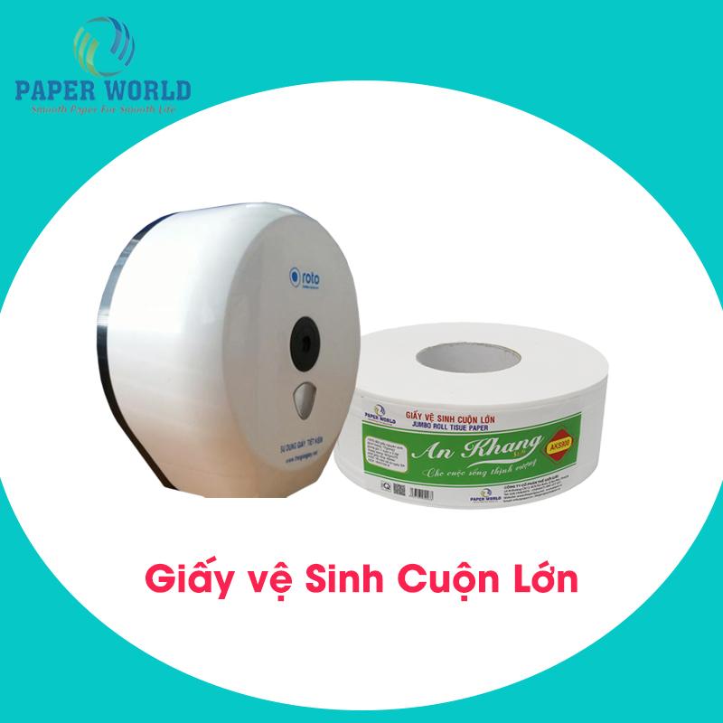Bảng giá giấy vệ sinh cuộn lớn mới hiện nay