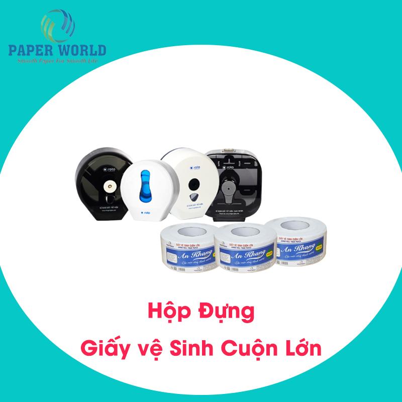 Hộp đựng giấy vệ sinh cuộn lớn TpHCM có nhiều loại để lựa chọn