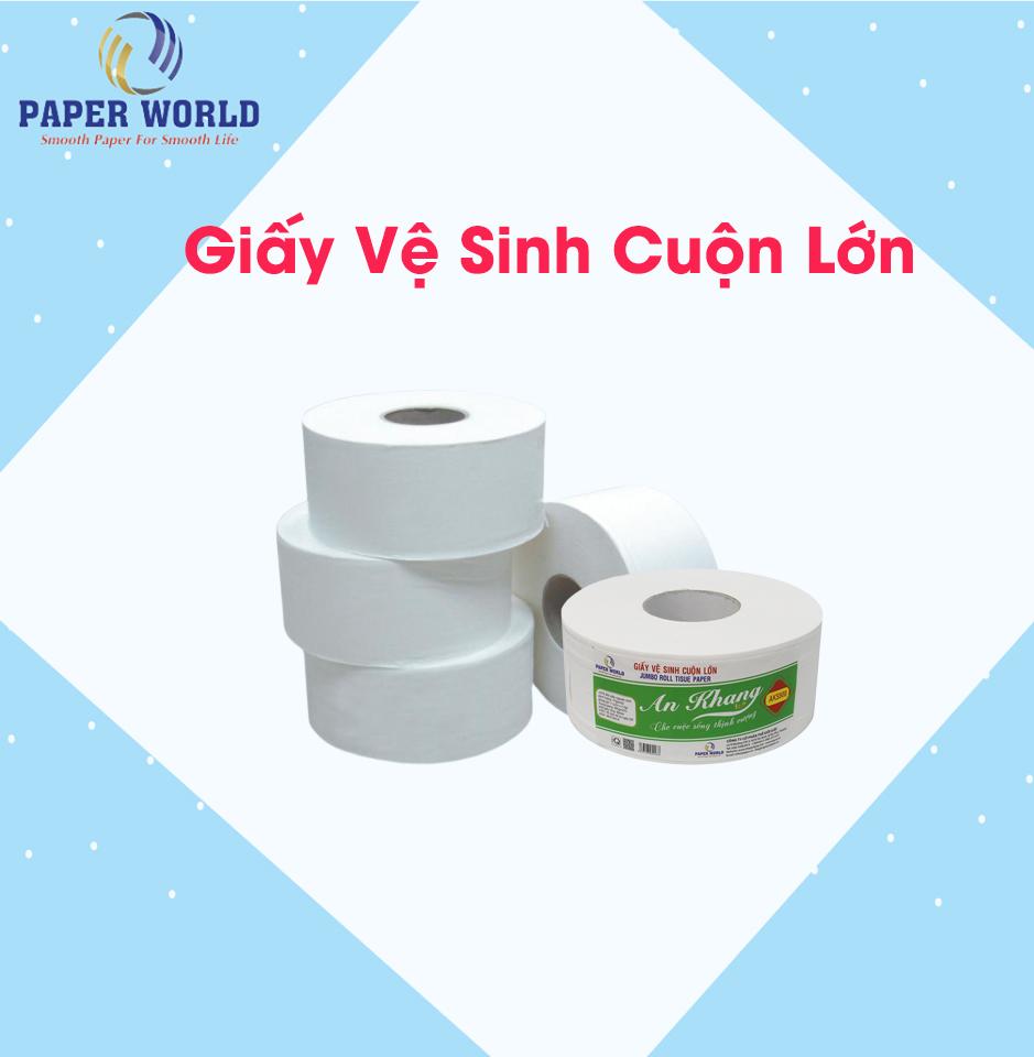 Giá giấy vệ sinh cuộn lớn bao nhiêu tiền?