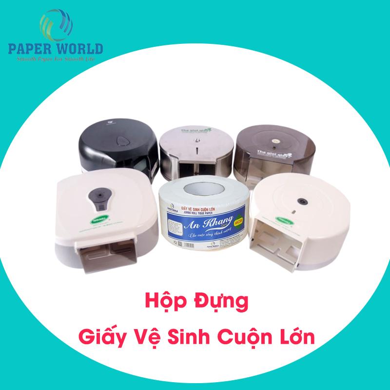 Hộp đựng giấy vệ sinh cuộn lớn TpHCM là sản phẩm thiết yếu