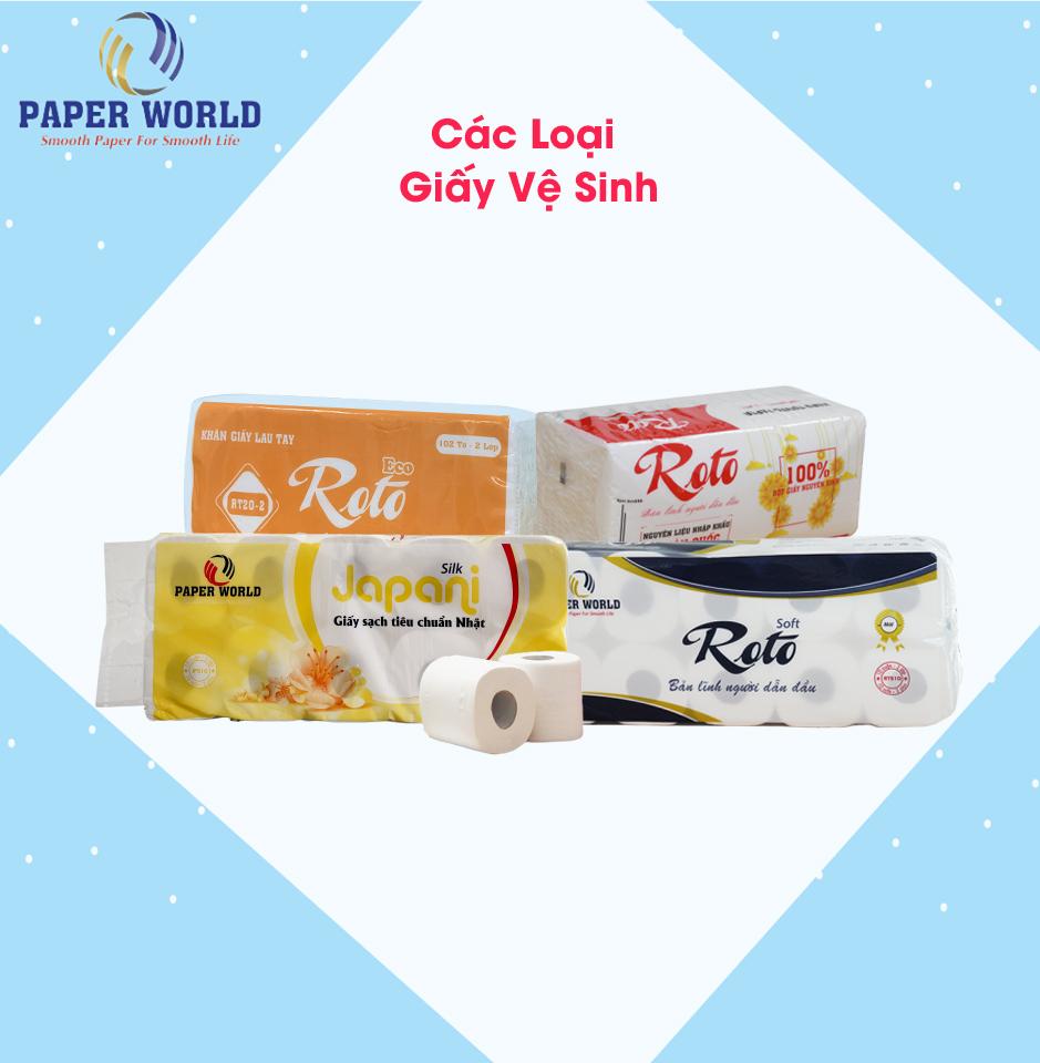 Giá giấy vệ sinh cuộn nhỏ tốt tại Thế Giới Giấy