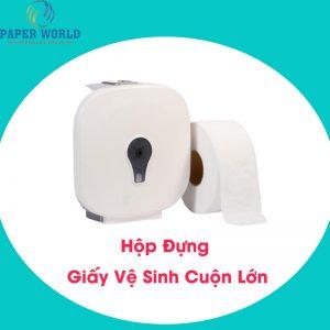 Hộp đựng giấy vệ sinh cuộn lớn HCM giá hiện tại?
