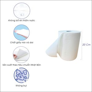 Kích thước giấy cuộn lớn đa năng jp1000S-paper.vn