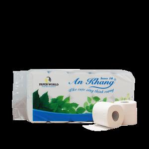 Giấy vệ sinh cuộn nhỏ thương hiệu An Khang