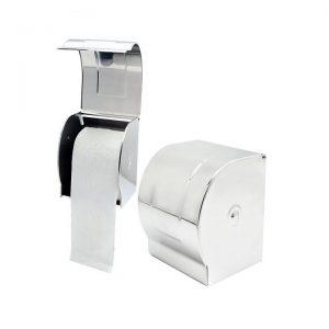 Hộp đựng giấy vệ sinh bằng chất liệu inox