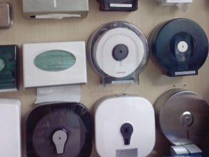 Thế giới giấy trang bị hộp đựng giấy vệ sinh
