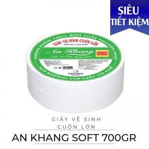 Cung cấp giấy vệ sinh cuộn lớn An Khang Soft700-Paper.vn