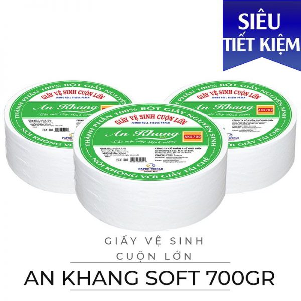 Cung cấp giấy cuộn lớn An Khang Soft700