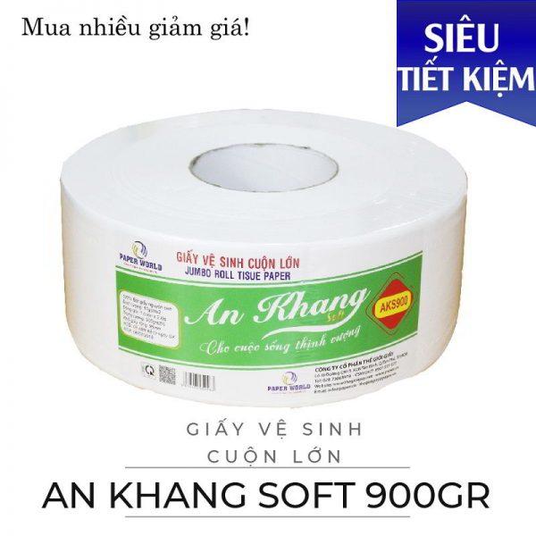 Cung cấp giấy vệ sinh cuộn lớn an khang soft900 - paper.vn