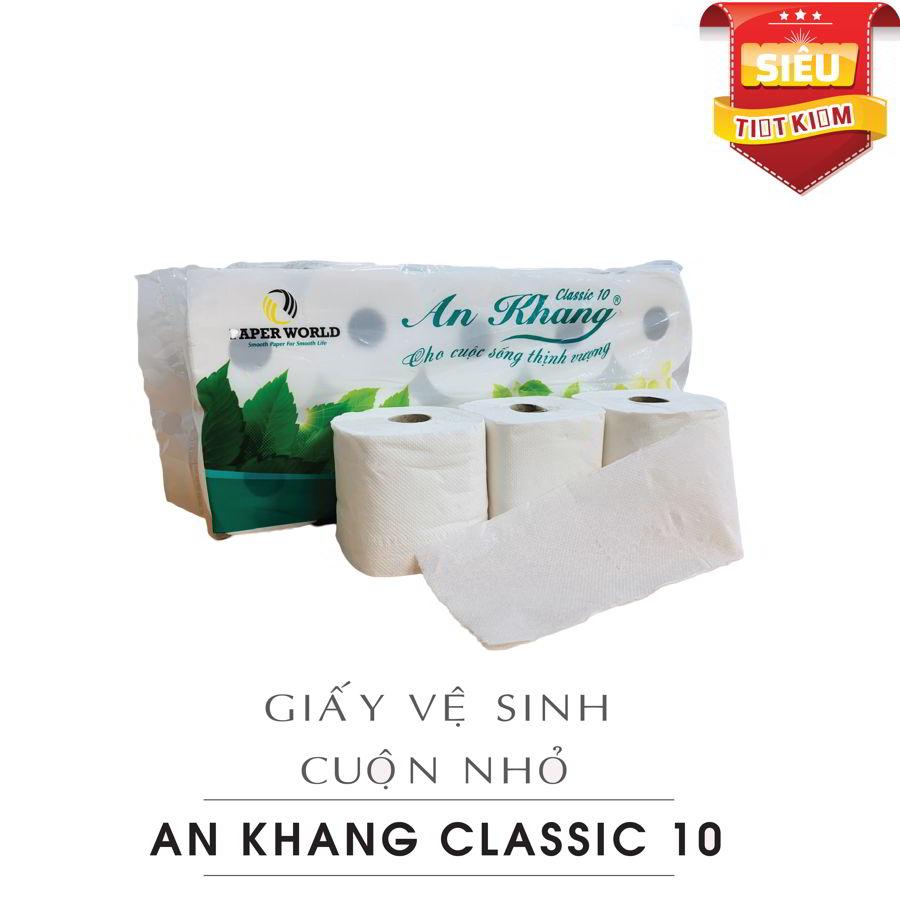Cung cấp giấy vệ sinh cuộn nhỏ An Khang Classic10-paper.vn