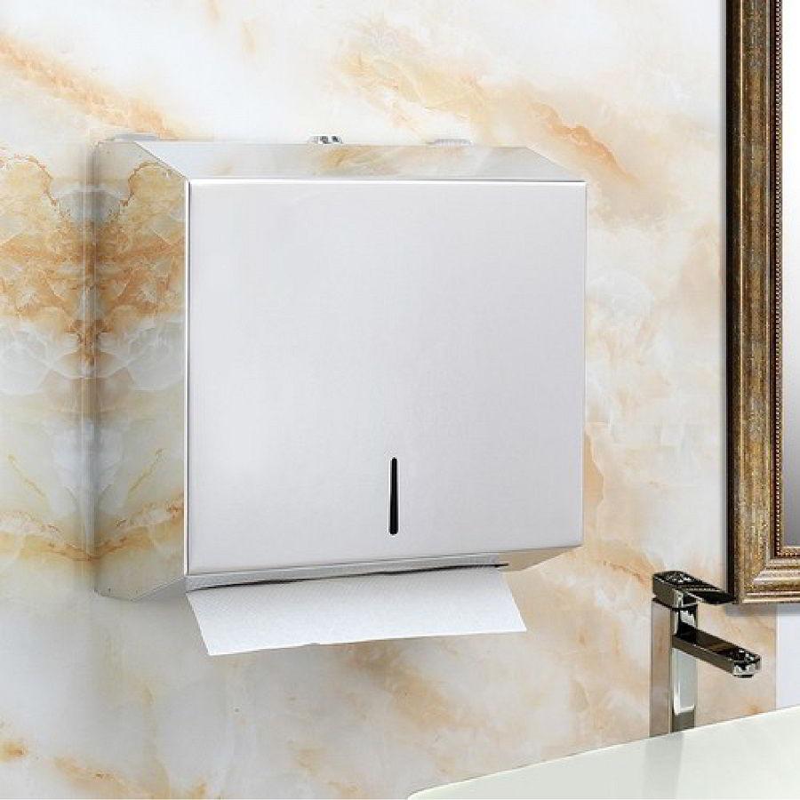 Hình ảnh hộp đựng giấy lau tay treo tường inox 1220I - Paper.vn