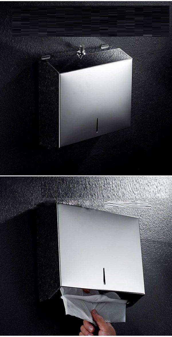 Hình ảnh hộp đựng khăn giấy treo tường 1220I - Paper.vn