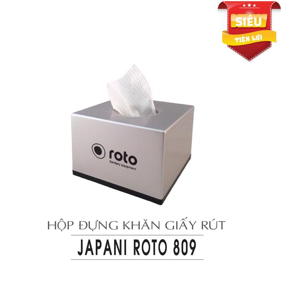 Cung cấp hộp đựng khăn giấy rút roto809-paper.vn