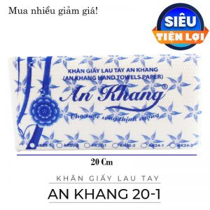 Cung cấp khăn giấy lau tay an khang 20-1- paper.vn
