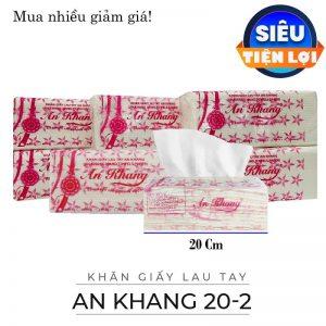 Cung cấp giấy lau tay An Khang 20-2 - Paper.vn