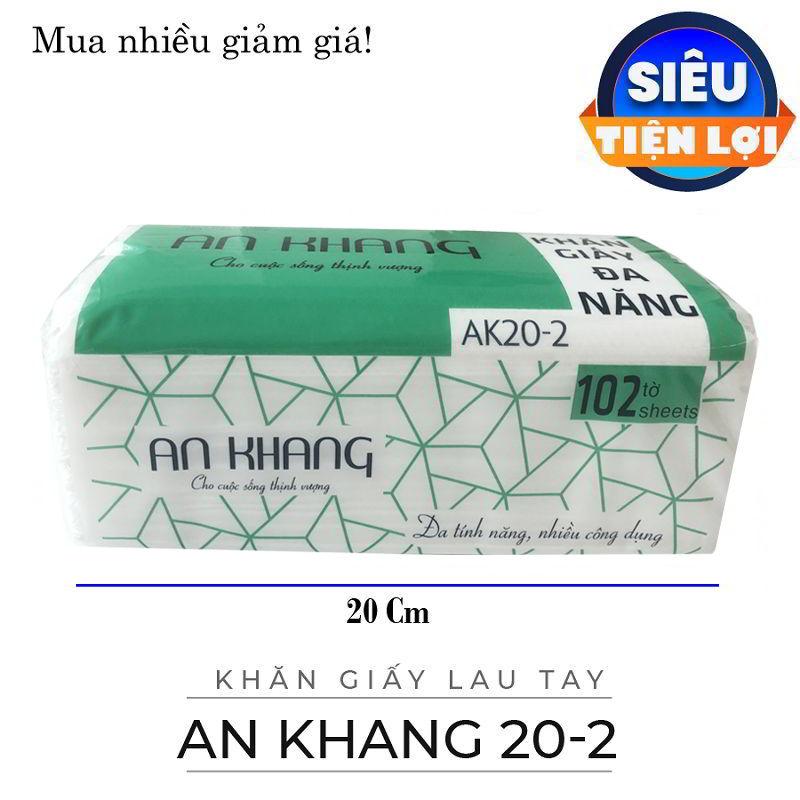 Cung cấp khăn giấy lau tay an khang 20-2-paper.vn