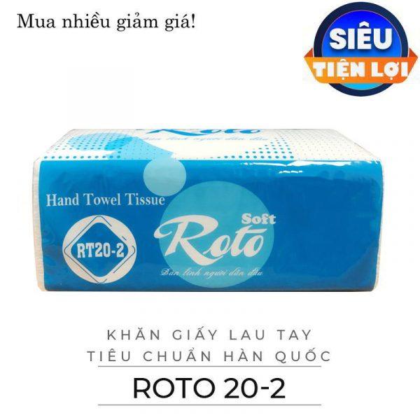 Cung cấp khăn giấy lau tay roto20-2