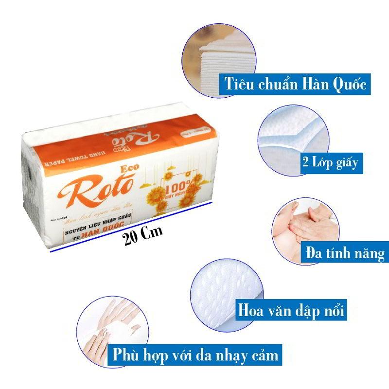 Đặc điểm của khăn giấy lau tay roto20-2-paper.vn