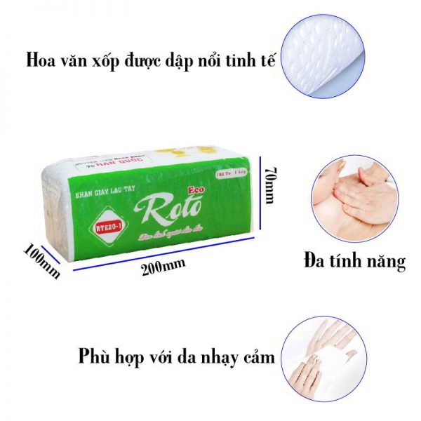 Đặc điểm của khăn giấy lau tay roto eco 20-1-Paper.vn