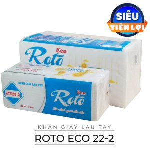Cung cấp giấy lau tay roto eco 22-2-paper.vn
