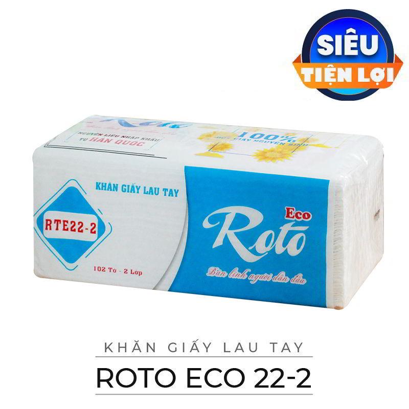 Cung cấp khăn giấy lau tay roto eco 22-2-paper.vn