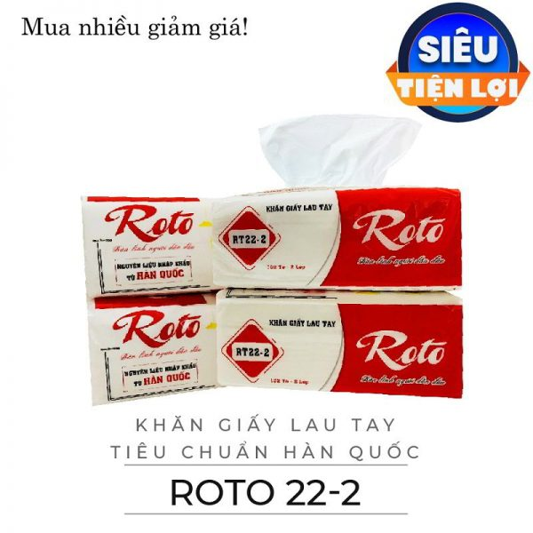 Cung cấp giấy lau tay roto 22-2-Paper.vn