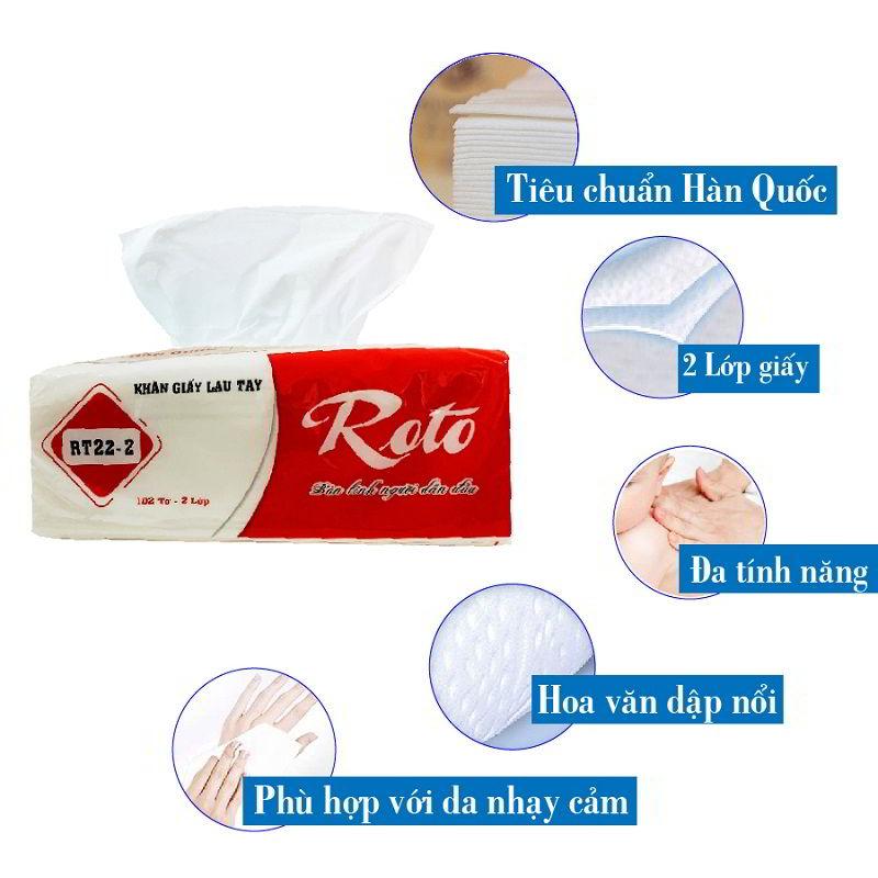 Đặc điểm của khăn giấy lau tay roto22-2-paper.vn
