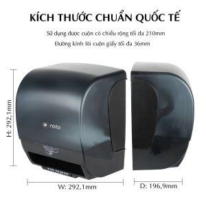 Kích thước máy cắt giấy đa năng roto1420 - Paper.vn