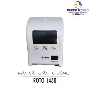 Cung cấp máy cắt giấy tự động roto1430 uy tín chất lượng - paper.vn
