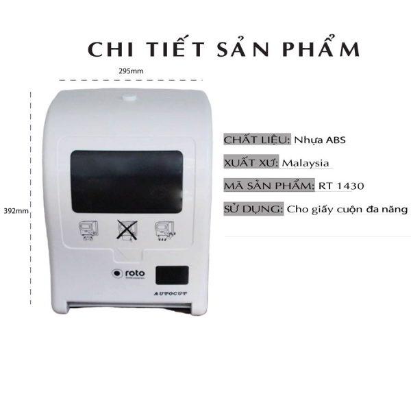 Chi tiết sản phẩm máy cắt giấy tự động roto1430-paper.vn
