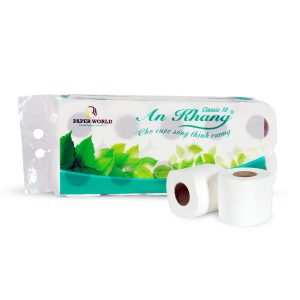 Giấy vệ sinh cuộn nhỏ An Khang Classic10