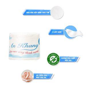 Đặc điểm giấy vệ sinh cuộn nhỏ AK01