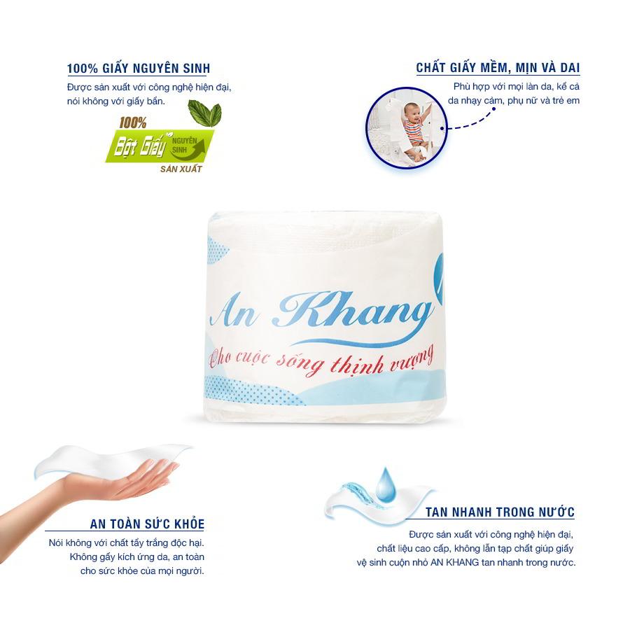 Lợi ích khi sử dụng giấy vệ sinh cuộn nhỏ An Khang One