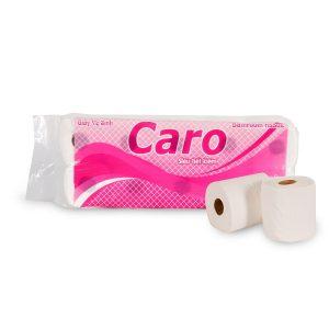 Giấy vệ sinh cuộn nhỏ Caro10