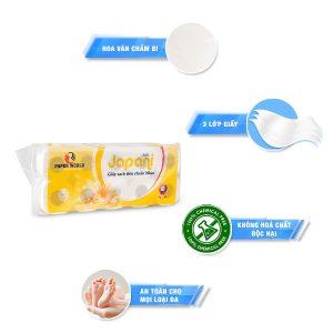 Đặc điểm Giấy sạch Nhật Bản Japani Silk 10