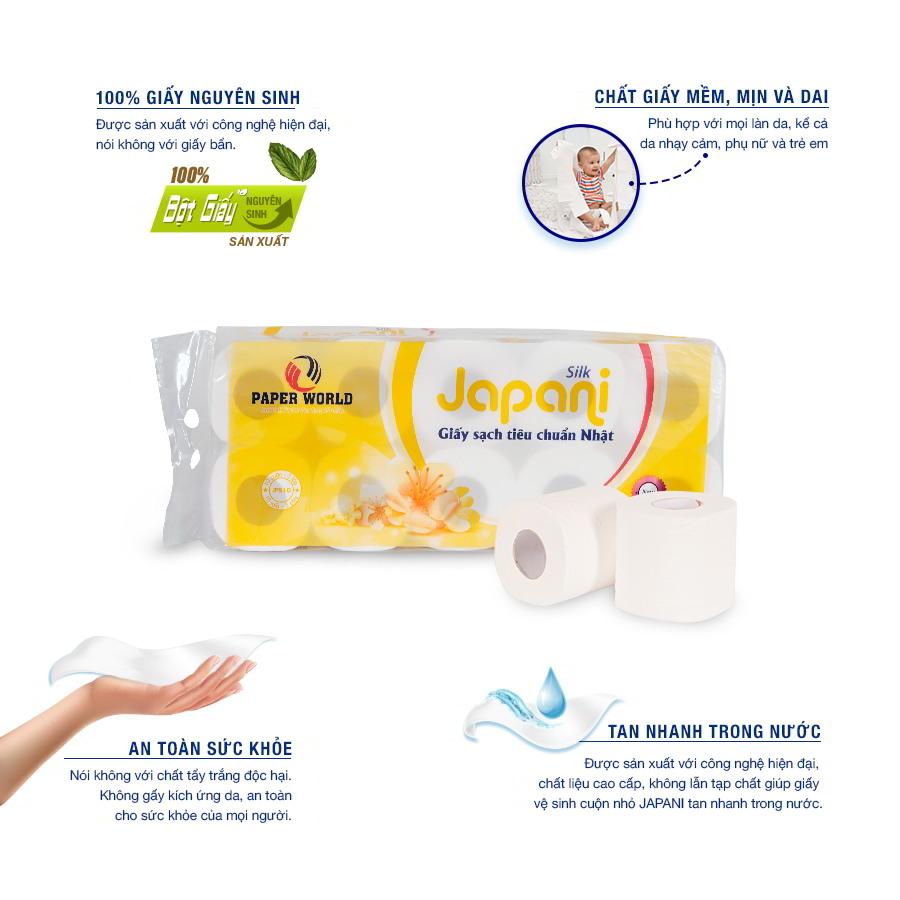 Lợi ích khi sử dụng Giấy sạch Nhật Bản Japani Silk 10